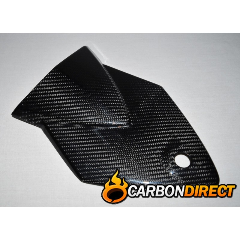 BMW S1000RR 100% CARBON FIBRE REAR SEAT COVER / COWL IN GLOSS TWILL 2009-2014