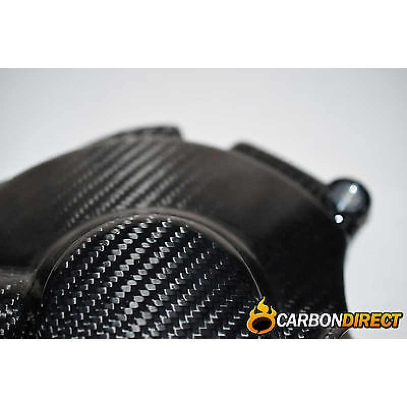 YAMAHA R1 R1M 100% CARBON FIBRE ENGINE CLUTCH COVER IN GLOSS TWILL 2015 - 2016