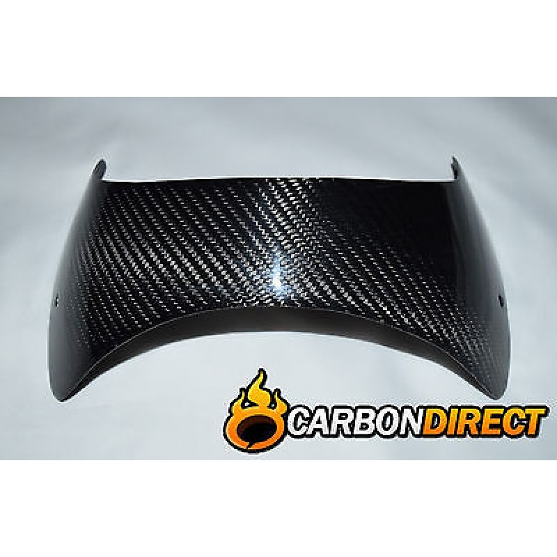 YAMAHA MT01 CARBON FIBRE FRONT WINDSHIELD / SCREEN IN TWILL GLOSS 2006-2010
