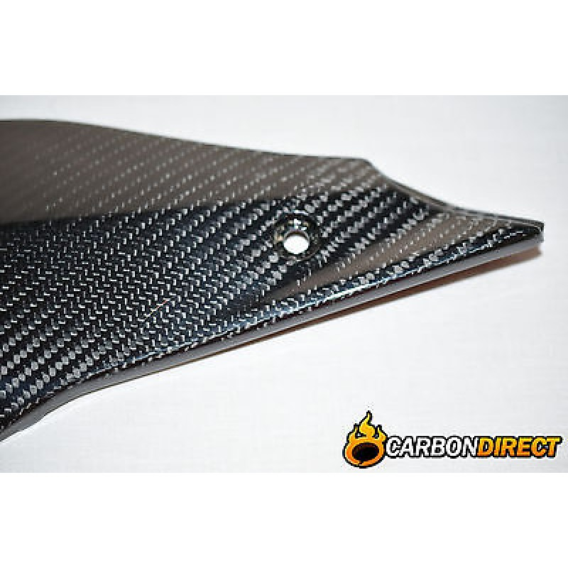 YAMAHA R1 R1M 100% CARBON FIBRE LOWER TANK SIDE PANELS IN GLOSS 2015 - 2016