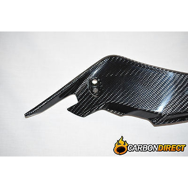YAMAHA R1 R1M 100% CARBON FIBRE SIDE PANELS INFILLS IN GLOSS TWILL 2015 - 2016