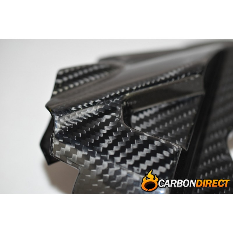 TRIUMPH TIGER 800 100% CARBON FIBRE SPROCKET ENGINE COVER GLOSS TWILL 2010-2014