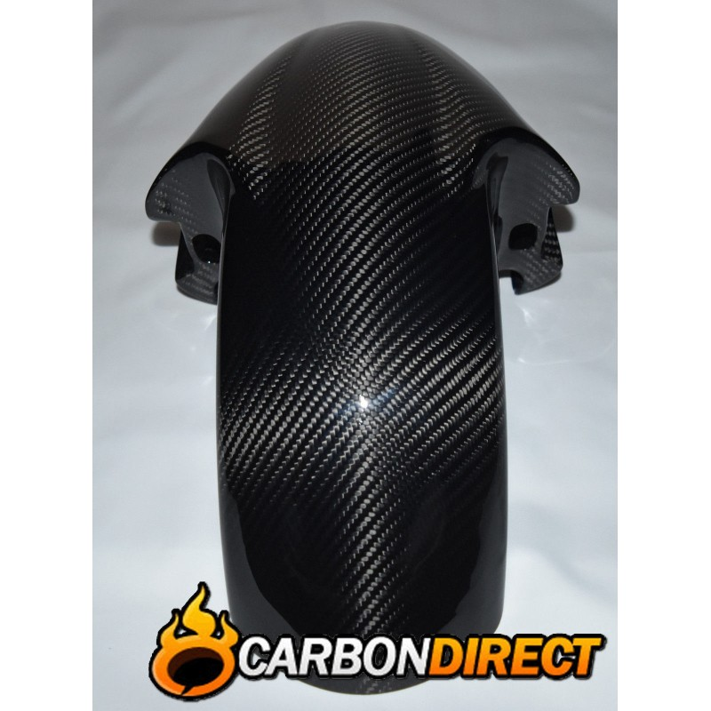 YAMAHA YZF R6 CARBON FIBRE FRONT MUDGUARD / FENDER IN TWILL GLOSS 1999 - 2002