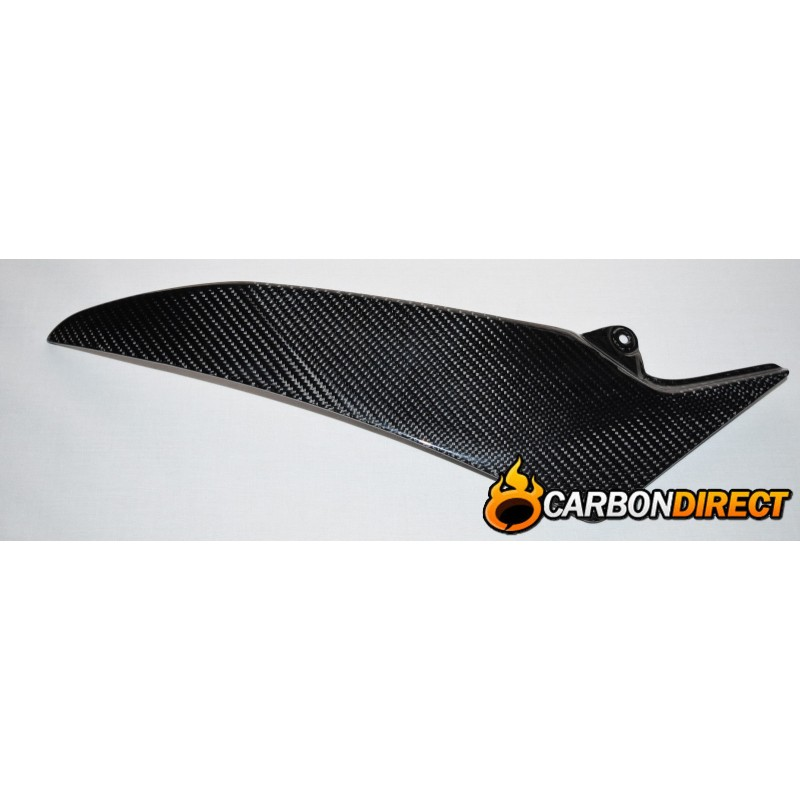 YAMAHA R1 100% CARBON FIBRE SIDE TANK PANELS / INFILLS IN GLOSS 2009 - 2014 14B