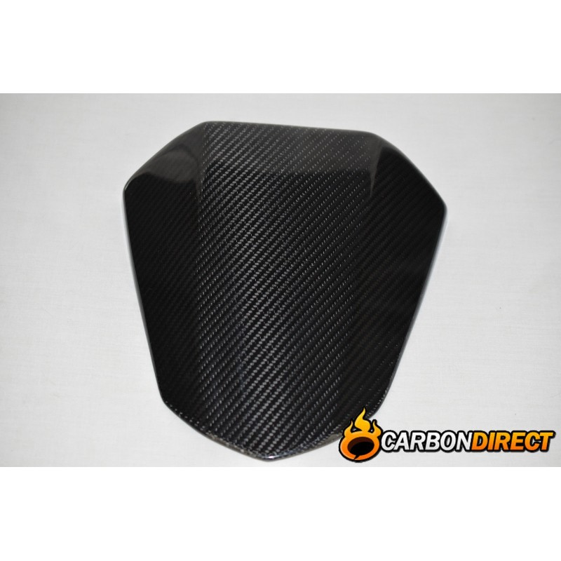 YAMAHA R6 100% CARBON FIBRE REAR SEAT COWL PILLION IN GLOSS TWILL 2008 - 2015