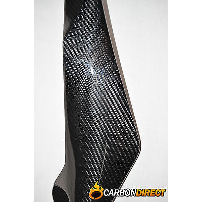 YAMAHA R6 100% CARBON FIBRE TANK SIDE PANELS COVERS IN GLOSS TWILL 2008 - 2015