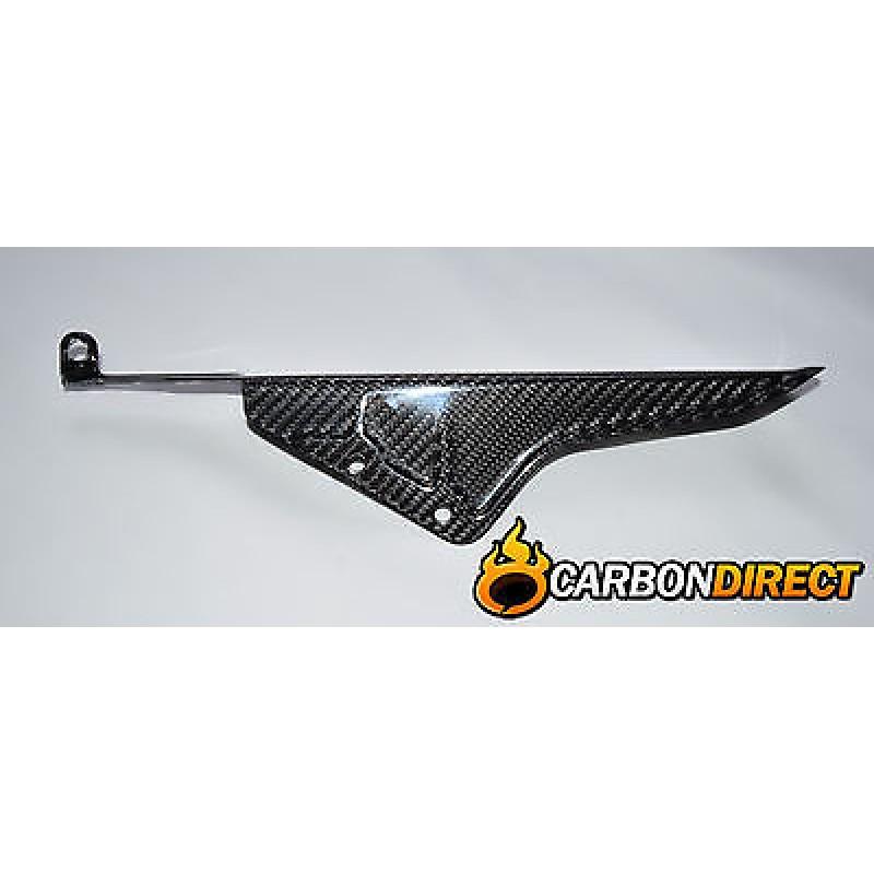 SUZUKI GSR600 100% CARBON FIBRE REAR CHAIN GUARD IN GLOSS TWILL GSR 600
